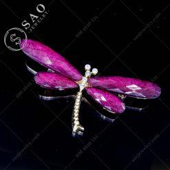CÀI ÁO ĐẸP chuồn chuồn hồng phong cách