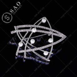 CÀI ÁO VEST NỮ ngôi sao bạc 925 cao cấp