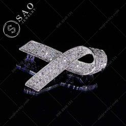 CÀI ÁO VEST NỮ chiếc nơ bạc 925 cao cấp