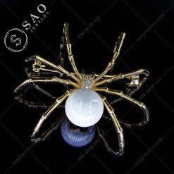 CÀI ÁO VEST NỮ nhện đính hạt ngọc cao cấp