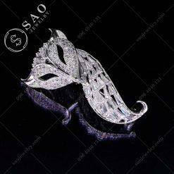 PHỤ KIỆN CÀI ÁO cáo dễ thương bạc 925 sang trọng