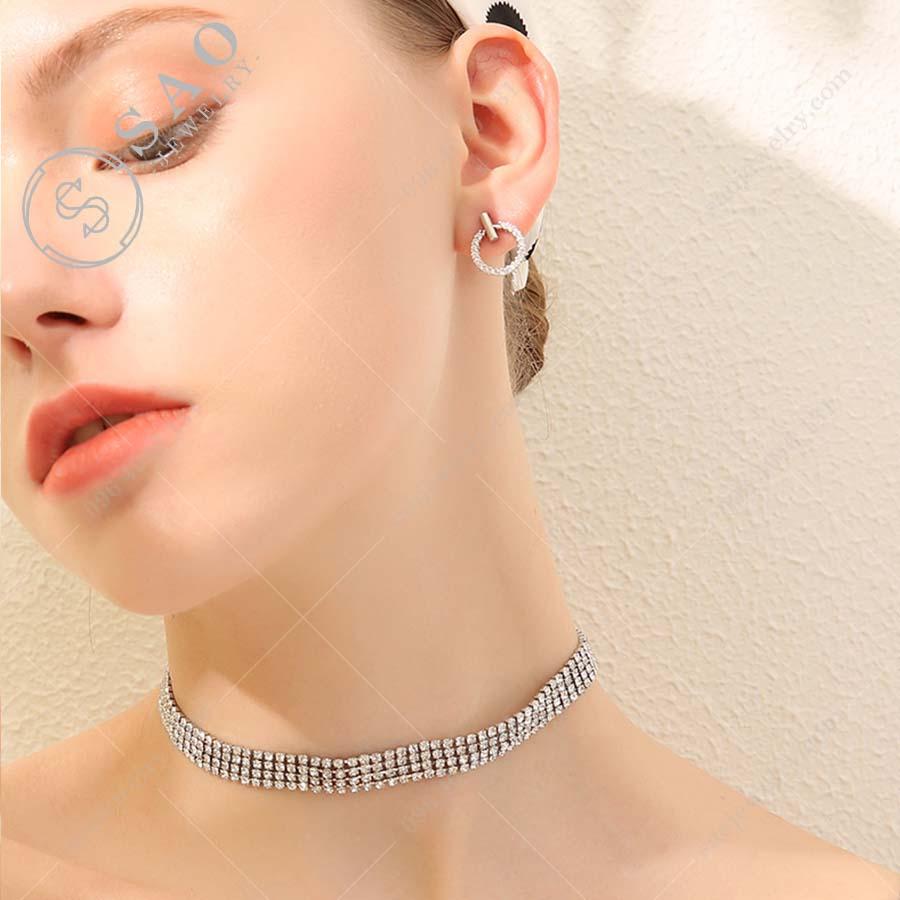 Bông tai bạc 925