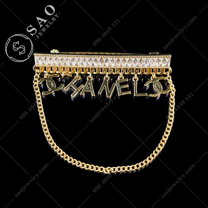 Cài Áo Chanel Tua Rua Thanh Lịch - CA655