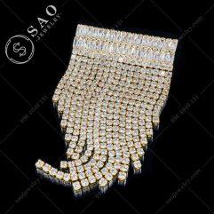 Cài áo tua rua mạ vàng cao cấp CA306V