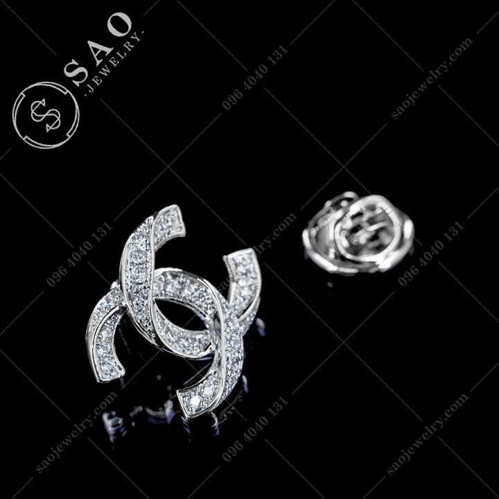Khuy Cài Áo Chanel Cao Cấp - KCA83