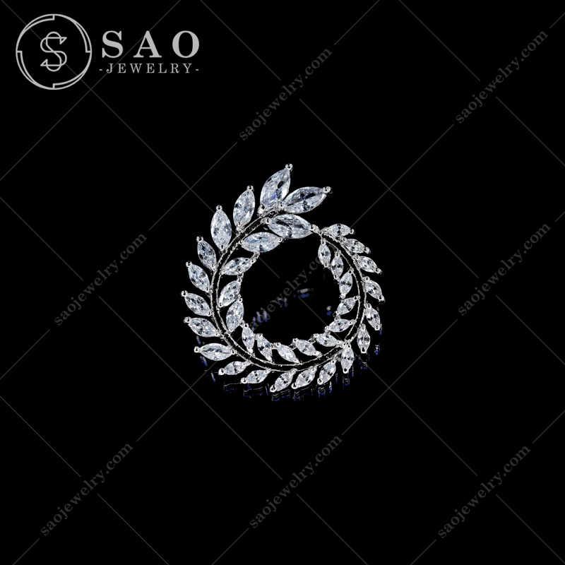 Khuy Cài Áo Lua Mì Đính Đá KCA38